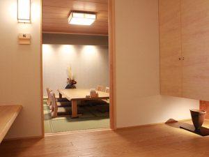 日本料理 志渡 和室